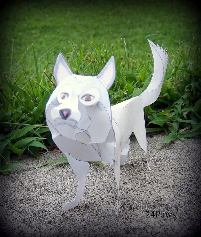 husky origami